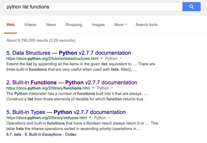 python list assignment